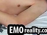 amateur, emo, masturbation, naked, piercing, skinny, soloboy, tattoos